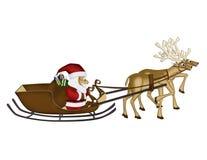 Бумага шелковицы северных оленей рождества Стоковое Фото