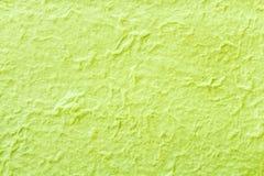 Бумага шелковицы зеленого цвета Стоковая Фотография RF