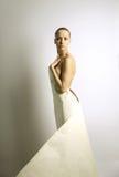 бумага девушки elegante Стоковая Фотография