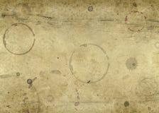 бумага blotched предпосылкой старая Стоковое Изображение