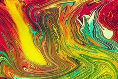 Бумага Ebru- мраморная Стоковые Изображения RF