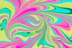 Бумага Ebru- мраморная Стоковое фото RF
