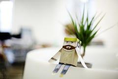 бумага figurine стоковая фотография