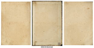Бумага Grunge старая для карты или года сбора винограда сокровища Стоковое Изображение