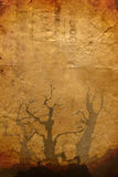 бумага halloween старая Стоковое фото RF