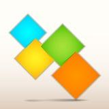Бумага Infographics Origami бесплатная иллюстрация