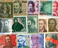 бумага international валют предпосылки Стоковое Изображение RF