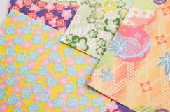 бумага origami предпосылки Стоковые Изображения RF