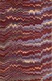 Бумага XIX век мраморизованная Стоковые Фотографии RF