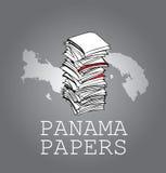 Бумаги Панамы Стоковая Фотография RF