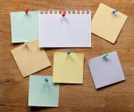 бумаги примечания различные Стоковая Фотография RF