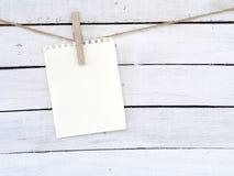 Бумаги примечания Стоковое фото RF