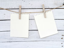 Бумаги примечания Стоковые Изображения