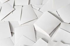 бумаги разбросали Стоковые Фото