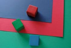 бумаги rgb блоков Стоковые Изображения RF