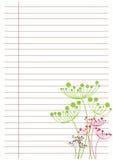 бумажная белизна листа иллюстрация штока