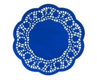 Бумажная диаграмма салфетка - синь Стоковые Фото
