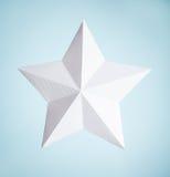 Бумажная звезда Стоковые Фото