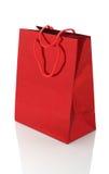 Бумажная изолированная сумка Стоковые Изображения RF