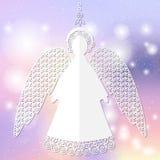 Бумажная иллюстрация ангела Стоковое Изображение