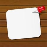 Бумажная карточка бесплатная иллюстрация