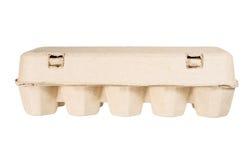 Бумажная коробка яичка Стоковые Фото