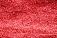 бумажная красная текстура конец вверх Стоковая Фотография
