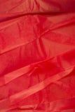бумажная красная ткань Стоковые Изображения RF