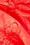 бумажная красная ткань Стоковое Изображение RF