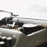 бумажная машинка Стоковая Фотография