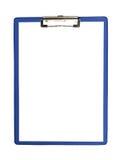 Бумажная доска сзажимом для бумаги Стоковое фото RF