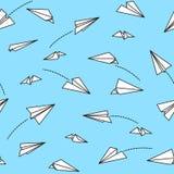 Бумажная плоская безшовная картина изолировала иллюстрацию предпосылки обоев вектора бесплатная иллюстрация