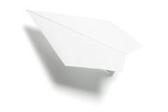 бумажная плоскость Стоковая Фотография
