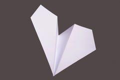 бумажная плоскость Стоковое фото RF