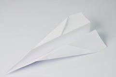 бумажная плоскость Стоковые Фото