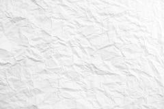 Бумажная предпосылка текстуры, скомканная бумажная предпосылка текстуры стоковые изображения