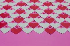 Бумажная предпосылка картины сердца Стоковые Изображения RF