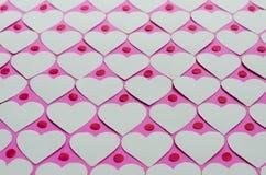 Бумажная предпосылка картины сердца Стоковые Фото