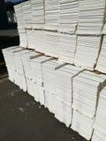 Бумажная пульпа для бумажной промышленности, сырцовая бумага стоковая фотография rf