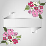Бумажная рамка цветка Стоковое Изображение RF