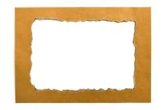 Бумажная рамка Стоковые Изображения