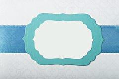 Бумажная рамка Стоковые Фотографии RF
