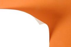 Бумажная скручиваемость стоковое изображение rf