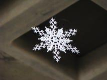 бумажная снежинка Стоковое фото RF