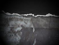 бумажная сорванная часть Стоковые Фотографии RF