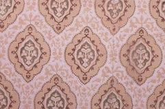бумажная стена сбора винограда Стоковые Фотографии RF