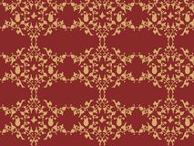 бумажная стена сбора винограда Стоковая Фотография RF