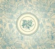 бумажная стена сбора винограда Стоковые Изображения RF