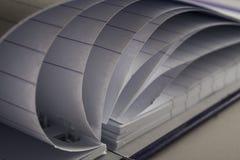 Бумажная страница Стоковое фото RF