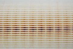 Бумажная текстура воздушного фильтра для двигателей автомобиля Стоковые Изображения